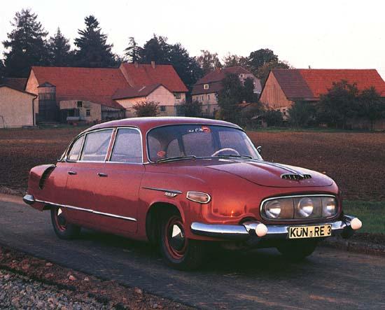 Полицейские Машины Мира №57 - Tatra 603